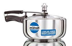 Hawkins B60 Stainless Steel Pressure Cooker, 3.0-Litre