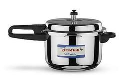Butterfly BL-7.5L Blue Line Stainless Steel Pressure Cooker,