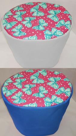 Canvas Teal & Pink Butterflies Cover Compatible with Instant