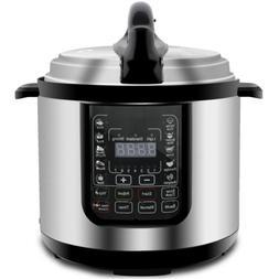 digital pressure cooker w steamer sterilizer eco
