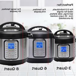 Instant Pot DUO PLUS Pressure Cooker Sauté, Steamer, Warmer