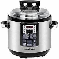 """PrepAmeal Electric Pressure Cookers 6QT 11-IN-1  Multi-Use """""""