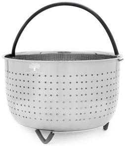 Instant Pot Steamer Basket for 6 - 8 QT Instapot, Foodi or P
