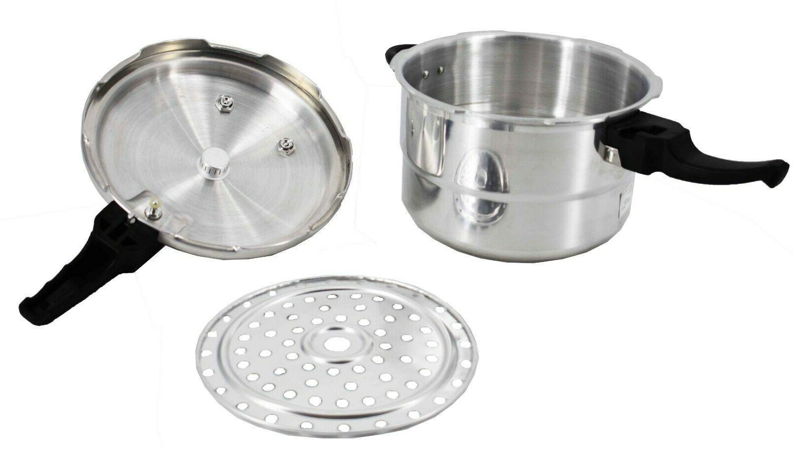 Aluminum Cooker Steamer Cooker,4.2/5.2/7.39/9.5/11.6
