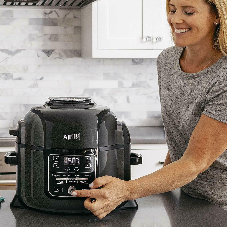 Kitchen Appliance Pressure Pot Quart Black Meals Fryer Electric