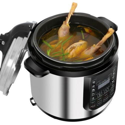 Digital Pressure Steamer Sterilizer Eco Kitchen Cooking Appliance