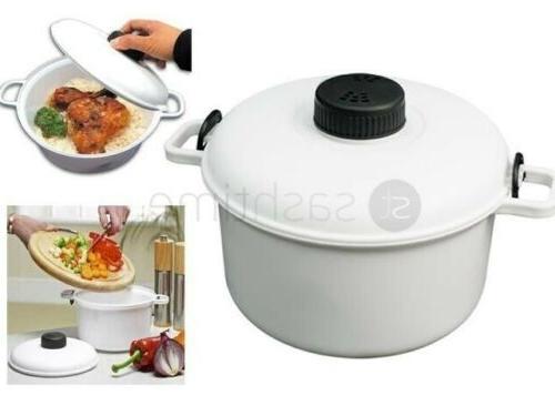 new micro microwave pressure cooker steamer vegetable