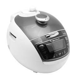 NEW Cuchen Premium IH Pressure Rice Cooker 6Cup, Metal Grey