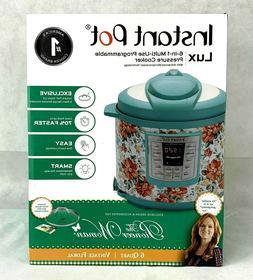 Pioneer Woman Instant Pot 6qt 6 Quart Programmable Pressure