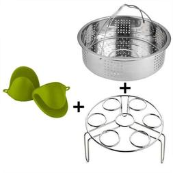 Ready-to-eat pot accessories for 6,8Qt instant pressure cook