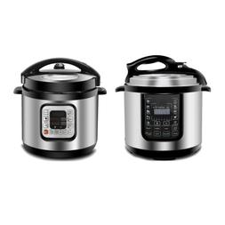 Stainless Steel Pressure Cooker  Fast Heat Powerful 1000W 6.